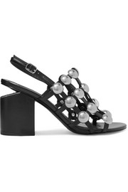 Alexander Wang Nadia studded leather slingback sandals