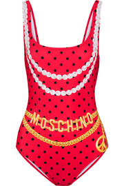 Moschino Printed swimsuit