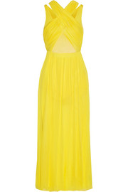 Emilio Pucci Layered stretch-jersey dress
