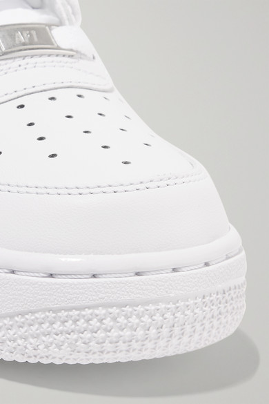 cheap for discount b6b54 2ecf3 Nike   Air Force I leather sneakers   NET-A-PORTER.COM
