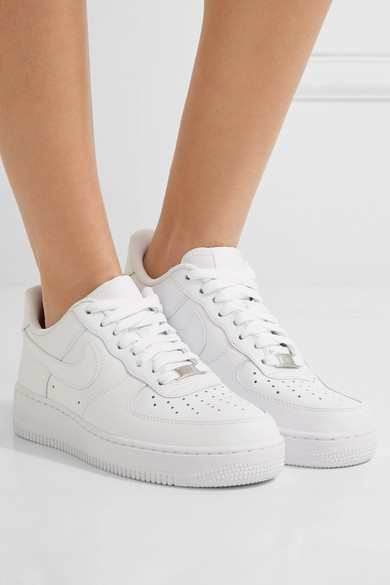 low priced 882b1 90f9c Air Force I leather sneakers