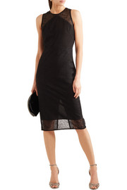 Diane von Furstenberg Paneled lace dress