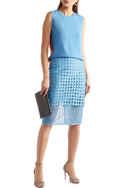 Diane von Furstenberg Lace pencil skirt
