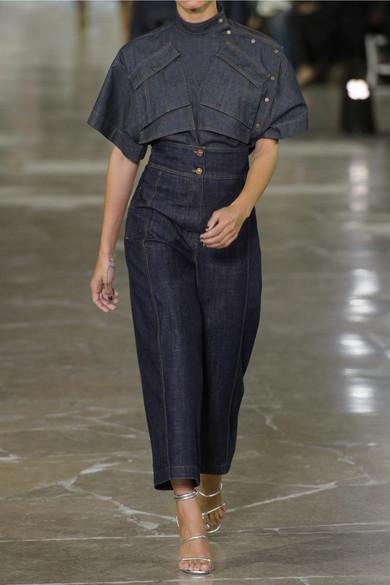 41760e5a KENZO | Cropped high-rise wide-leg jeans | NET-A-PORTER.COM