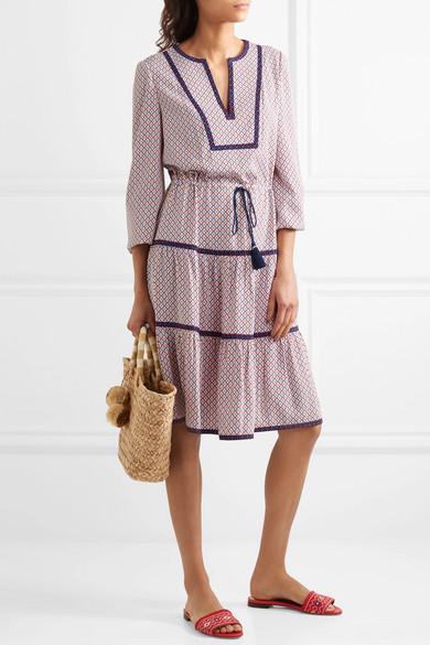 3c3128cdd04 Tory Burch   Gabby printed crepe dress   NET-A-PORTER.COM