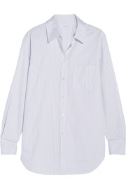 Equipment Kenton striped cotton-poplin shirt