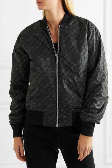 2c2cb046c Reversible fleece and jacquard bomber jacket