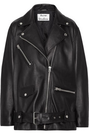Myrtle leather biker jacket