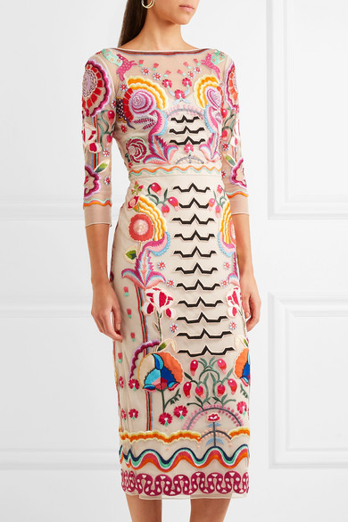 Image result for temperley embroidered dress