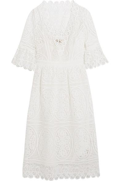 222a2b8c1853 Temperley London. Titania guipure cotton-lace ...