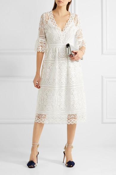 229753a1e0ce Temperley London. Titania guipure cotton-lace midi dress
