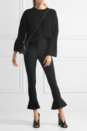 Hunter cropped stretch cotton-blend skinny pants