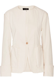 Isabel Marant Honey stretch cotton-blend jacket