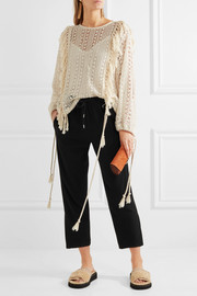 See by Chloé Crepe tapered pants