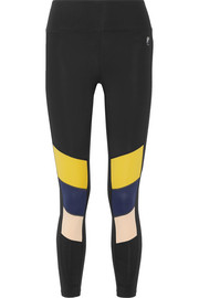 The Iron Tyson color-block stretch leggings