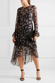 Zimmermann Ruffled floral-print silk-georgette dress