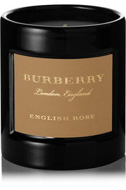 Burberry Beauty English Rose scented candle, 240g