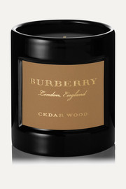 Cedarwood scented candle, 240g
