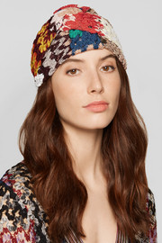 Missoni Twisted crochet-knit headband