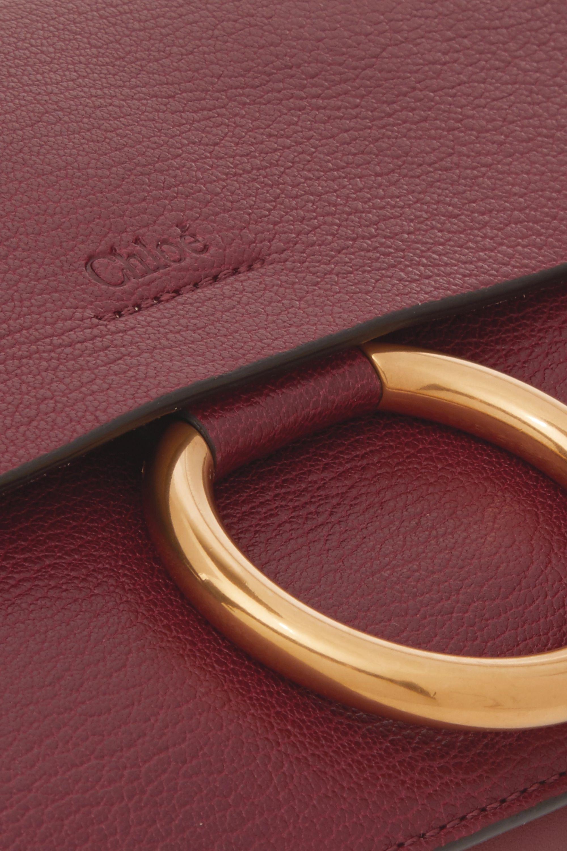 Chloé Faye textured-leather shoulder bag