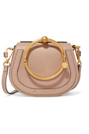 Chloé Nile small leather and suede shoulder bag