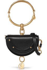 Chloé Nile mini textured-leather shoulder bag