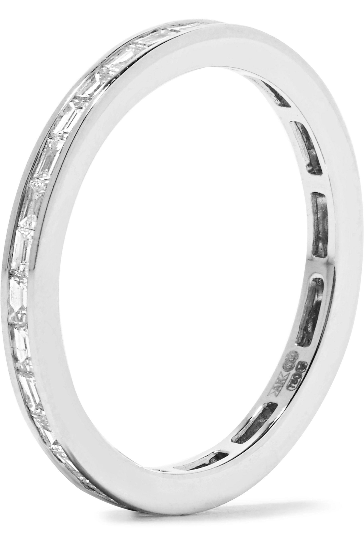 Anita Ko 18-karat white gold diamond ring