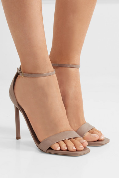 Amber Patent Leather Sandals iwY0p1Dgv