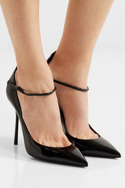 Saint Laurent Y patent-leather pumps