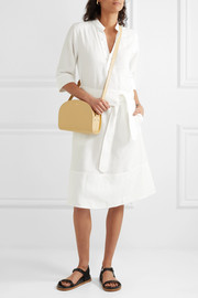 Oleson Tencel and linen-blend dress