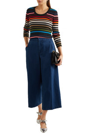 Sonia Rykiel Striped stretch-knit sweater