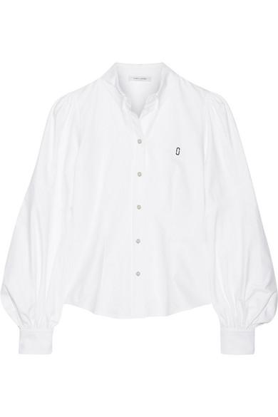 marc jacobs female marc jacobs cotton oxford shirt white