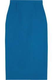 Arreton stretch-crepe pencil skirt