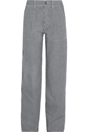 Chloé Striped cotton pants