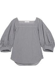 Chloé Striped denim top