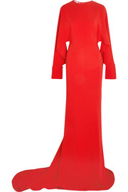 Stella McCartney Cutout cady gown