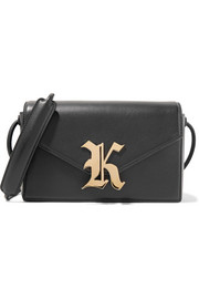 Christopher Kane Gothic K Devine leather shoulder bag