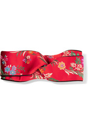 Gucci Twisted jacquard headband