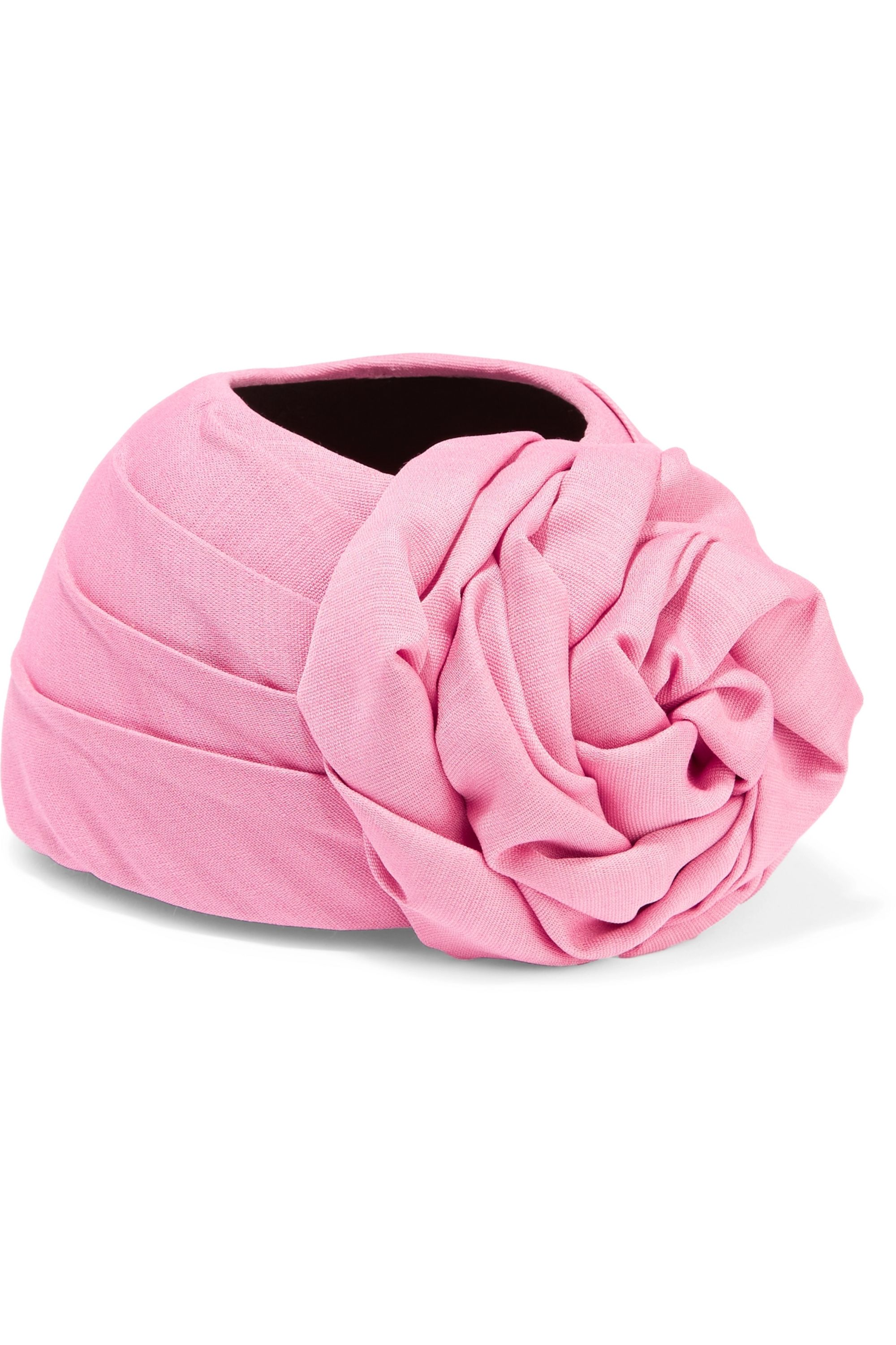 Gucci Knotted silk and wool-blend turban