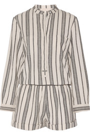 Vanessa Bruno Geza cotton-jacquard playsuit