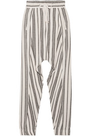 Vanessa Bruno Guillaume slub cotton-jacquard pants