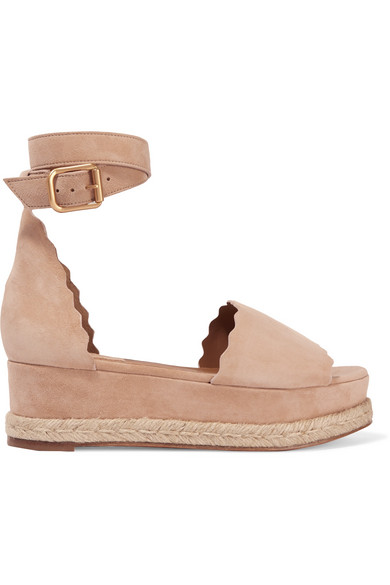 cheap sast Chloe Lauren Flatform Leather Sa... 100% guaranteed for sale for sale buy authentic online clearance high quality cheap great deals 2uopvDlN