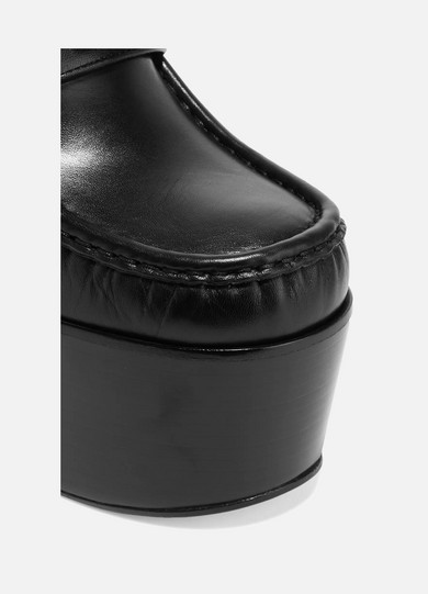 Gucci Verzierte Loafers aus Leder mit Plateau Spielraum Neue Stile Günstig Kaufen Vorbestellung Original Zum Verkauf Offizielle Günstig Online Erschwinglicher Günstiger Preis YhRa6dpJ4K