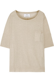 Allude Cotton and cashmere-blend sweater