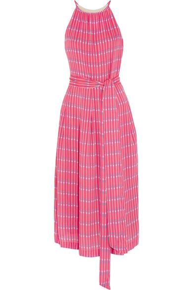 Vanessa Seward - Delisisle Printed Voile Midi Dress - Pink