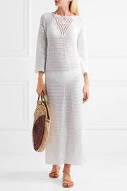Dombasle crocheted cotton dress