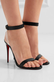 Christian Louboutin Jonatina leather and PVC sandals