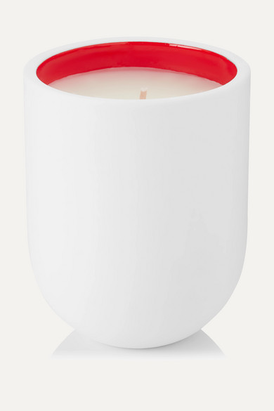 Cafe Society Scented Candle, 220G in Red