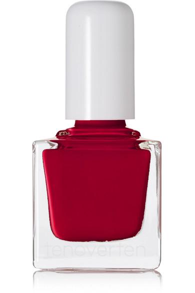 TENOVERTEN Nail Polish - Carmine 002 in Red