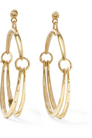 Chloé Nile gold-tone hoop earrings